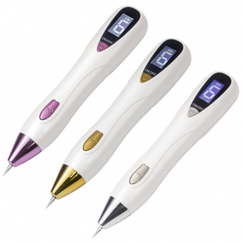 AleoBeauty Portable Laser Mole Freckle Plasma Removal Pen - Skin Tag Removal Machine -Tatto Remover Device